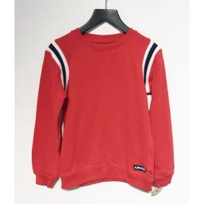 Levi's kids boys sweater trui met bies in de kleur rood