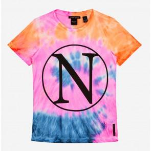 Nik en Nik Girls Kim N tie-dye t-shirt in de kleur multicolor