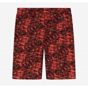 Nik en Nik Boys korte sweatbroek Lenny camo shorts in de kleur bright red rood