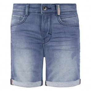 Retour jeans denim deluxe boys korte jog jeans short Loek in de kleur light blue