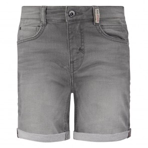 Retour jeans denim deluxe boys korte jog jeans short Loek in de kleur light grey grijs
