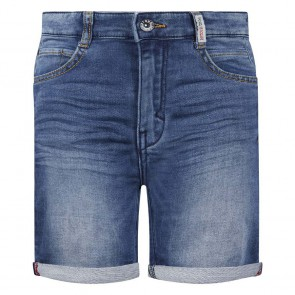 Retour jeans denim deluxe boys korte jog jeans Loek in de kleur medium blue