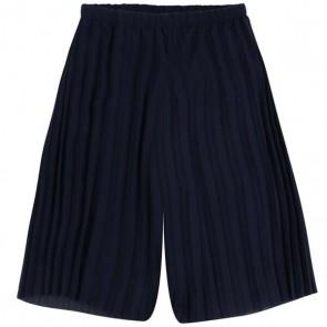 Mayoral kids girls pliseé culotte broek in de kleur donkerblauw