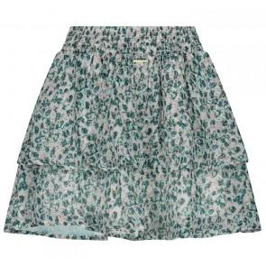 Circle of trust gebloemd rokje Yente skirt in de kleur groen