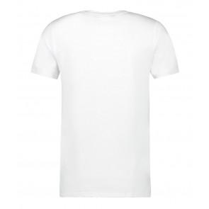 Ballin Amsterdam kids t-shirt met logo print in de kleur wit