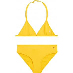 Tommy Hilfiger kids girls bikini triangle set in de kleur geel yellow