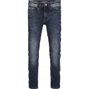 Calvin Klein kids boys super skinny dew blue grey jeans