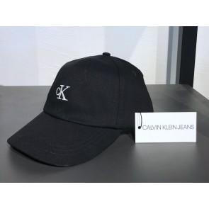 Calvin Klein kids monogram logo base ball cap in de kleur zwart