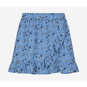 Nik en Nik kids girls rok Bracha skirt met bloemen print in de kleur fresh blue