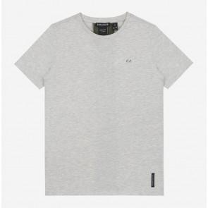 Nik en Nik pele t-shirt ultra light grey melange grijs