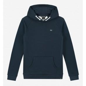 Nik en Nik boys Percy hoodie sweater trui in de kleur faded dark blue