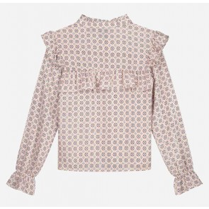 Nik en nik girls Dami print top blouse in de kleur multicolor