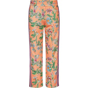 Tommy Hilfiger kids girls sweatpants floral tape track pants in de kleur multicolor