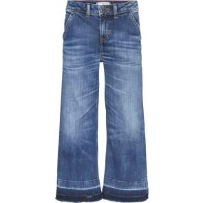 Tommy Hilfiger kids girls culotte wide leg jeans broek in de kleur jeansblauw