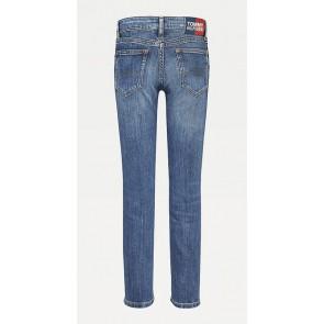 Tommy Hilfiger kids girls Nora skinny fit jeans broek in de kleur jeansblauw