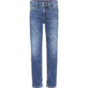 Tommy Hilfiger kids boys scanton slim fit jeans broek in de kleur jeansblauw