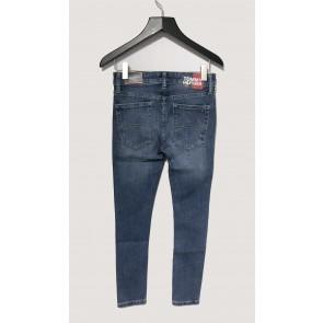 Tommy Hilfiger kids boys simon super skinny jeans broek in de kleur jeansblauw