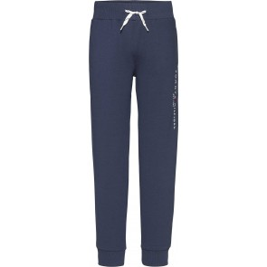 Tommy Hilfiger kids boys essential sweatpants in de kleur donkerblauw
