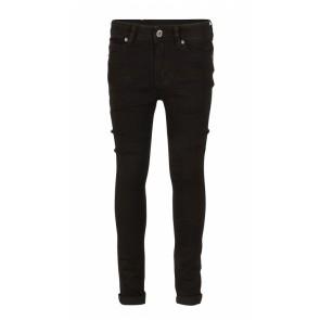 Indian blue jeans boys black brad super skinny fit jeans broek in de kleur zwart