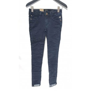 Indian blue jeans girls blue jill flex skinny fit in de kleur jeansblauw