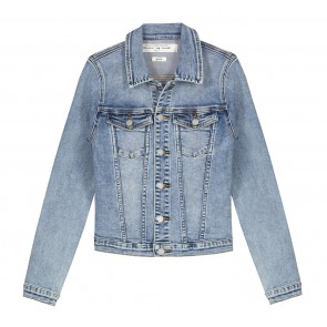 Circle of trust girls Mara denim jacket in de kleur jeansblauw