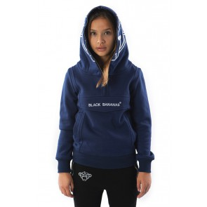 Black Bananas kids JR incognito hoody sweater trui in de kleur navy donkerblauw