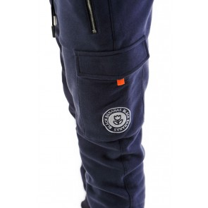 Black Bananas kids JR tech jogger sweatpants broek in de kleur navy donkerblauw