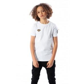 Black Bananas kids JR pocket tee in de kleur wit