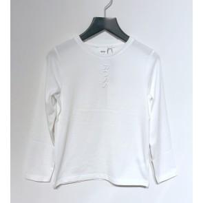 Hugo Boss kids boys longsleeve shirt met logo print in de kleur wit