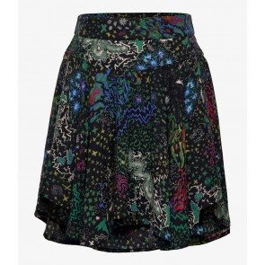Zadig en Voltaire girls viscose rok met all over print in de kleur multicolor