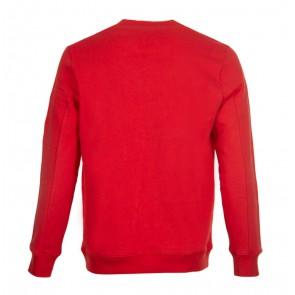 CP Company undersixteen kids sweater trui met lens in de kleur rood