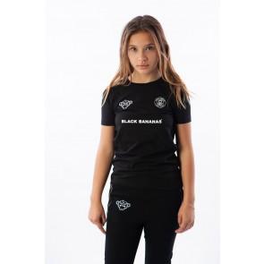 Black Bananas kids the FC 2.0 tee shirt in de kleur black zwart