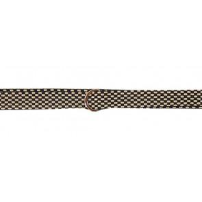 AI&KO girls wrap riem belti fancy in de kleur zwart/goud