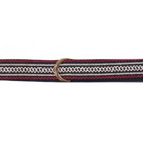 AI&KO girls wrap riem belti fancy in de kleur blauw/rood
