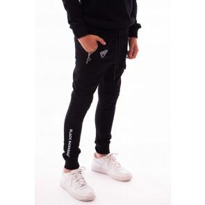 Black Bananas kids JR F.C. jogger sweatpants lange broek in de kleur zwart