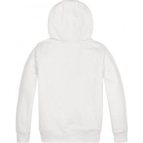 Tommy Hilfiger kids boys graphic hoodie sweater trui in de kleur wit