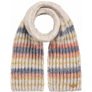 Barts kids sjaal Lexieh scarf in de kleur pastel multicolor