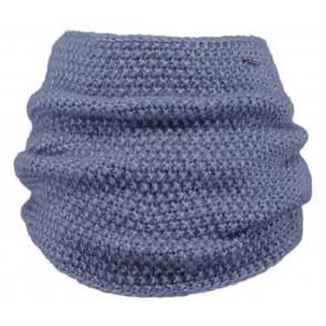 Barts kids col sjaal Ymaja scarf in de kleur lavender blue blauw