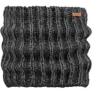 Barts kids col sjaal Carlosh scarf in de kleur antraciet grijs
