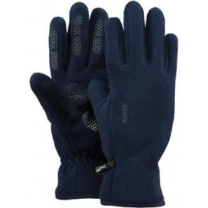 Barts kids handschoenen fleece gloves extra grip in de kleur donkerblauw