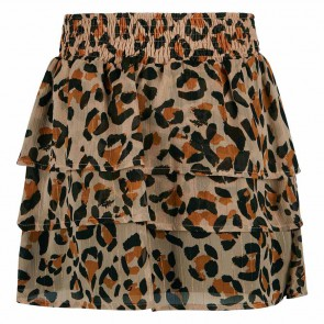 Retour jeans girls Beau stroken rok met panter print in de kleur beige/zwart