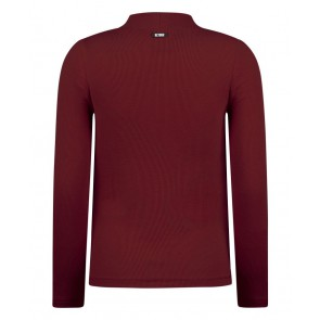 Retour jeans girls Mirella col top in de kleur bordeaux rood