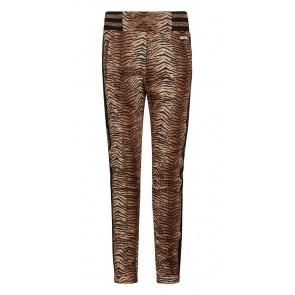 Retour jeans girls Helene sweat broek met animal print in de kleur beige/zwart