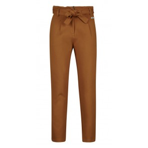 Retour jeans girls Aranka paper bag stretch broek in de kleur caramel bruin