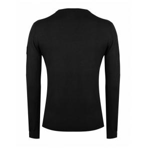 Rellix kids boys fijngebreide trui met ronde hals in de kleur zwart
