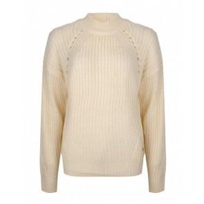 Rellix kids girls grof gebreide trui in de kleur off white