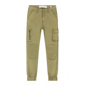 Circle of trust girls worker broek lennox in de kleur olive oil groen