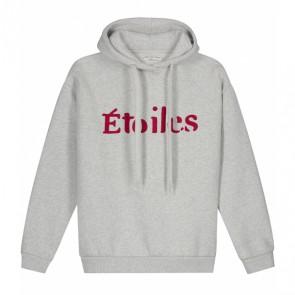 Circle of trust girls Jo hoodie sweater trui etoile in de kleur lichtgrijs