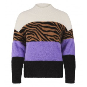 Retour jeans girls harige sweater trui Ulrike in de kleur multicolor