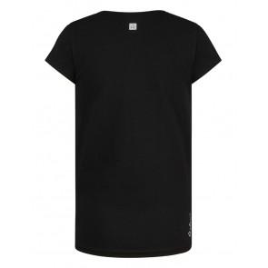 Retour jeans girls t-shirt Kiki rock in de kleur black zwart